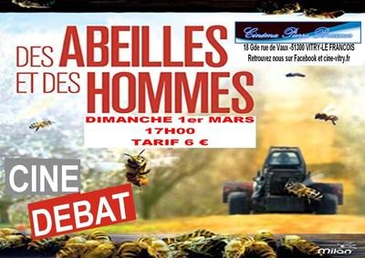 CINÉ-DÉBAT : des abeilles et des hommes